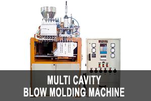 multi cavity blow molding machine